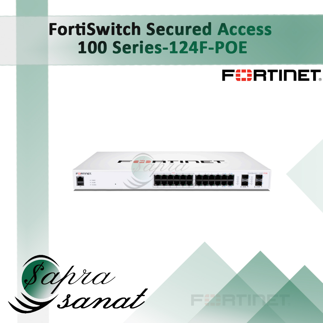 FortiSwitch 124F-POE