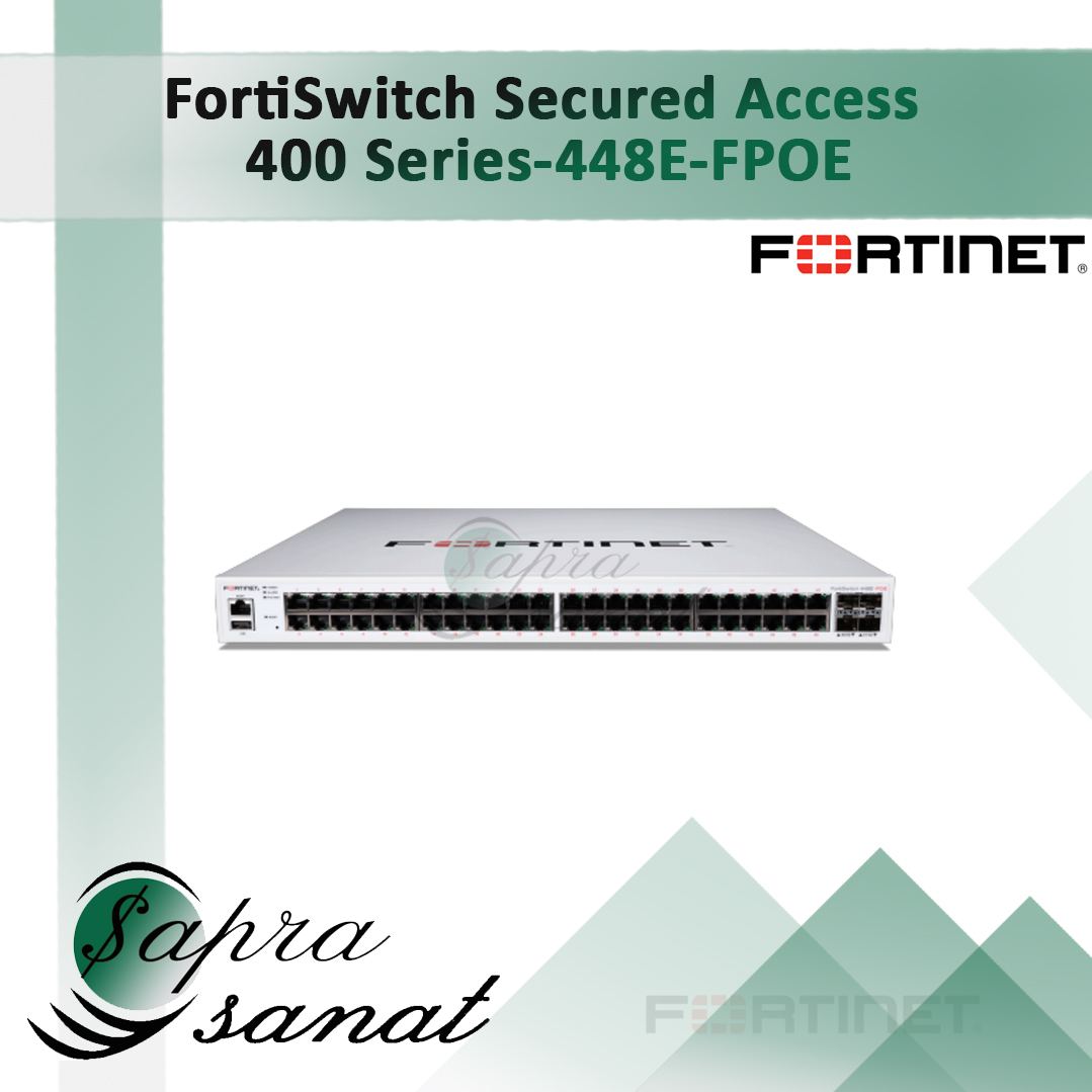 FortiSwitch 448E-FPOE